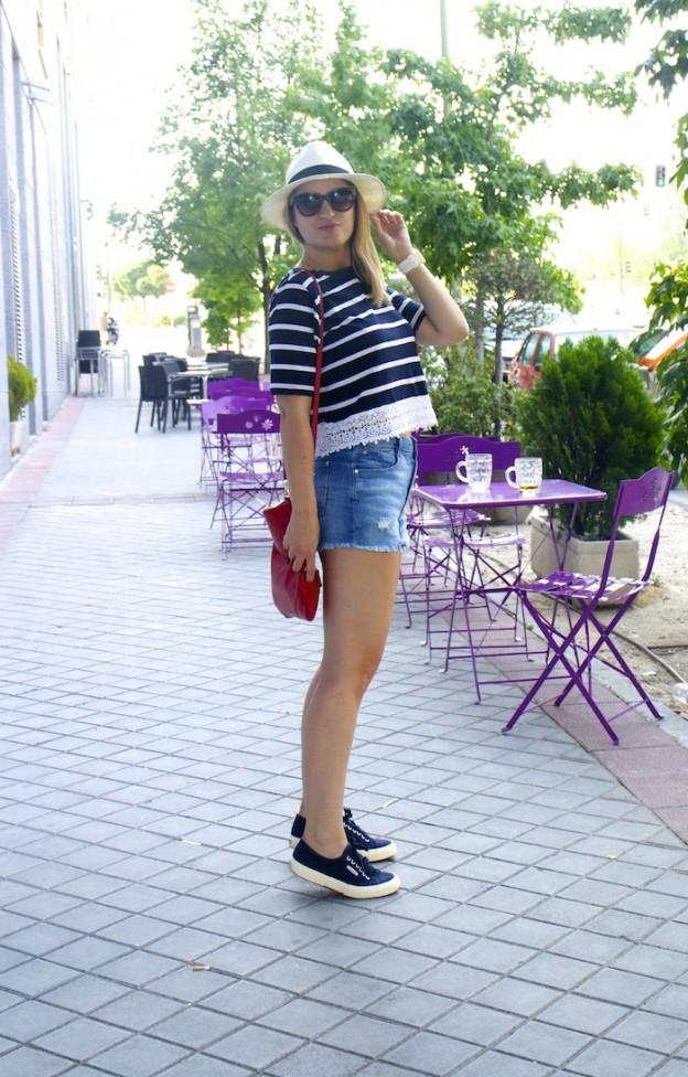 superga sneakers mulberry bag shorts Zara amaras la moda