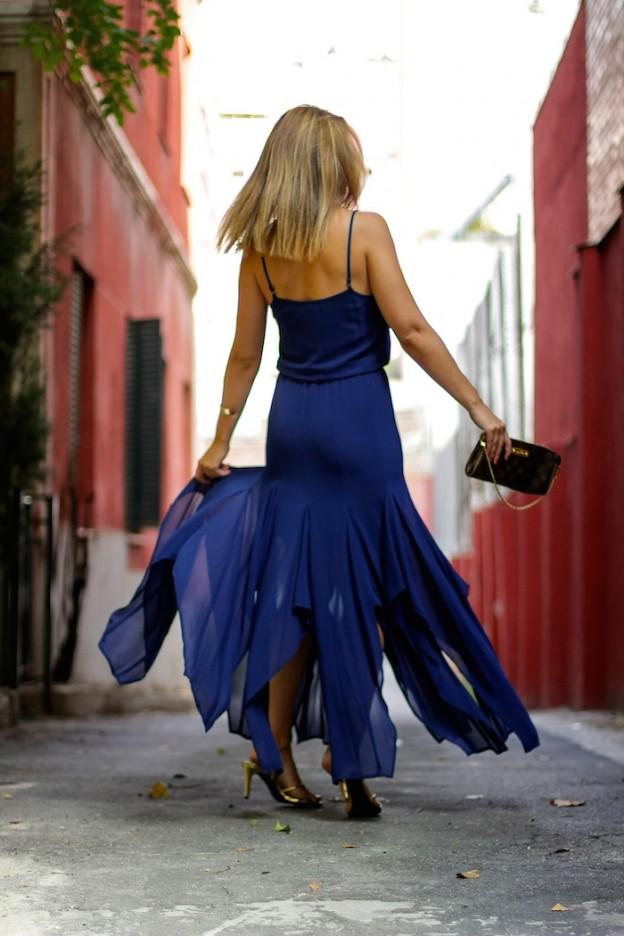 michael kors dress louis vuitton bag amaras la moda Paula Fraile