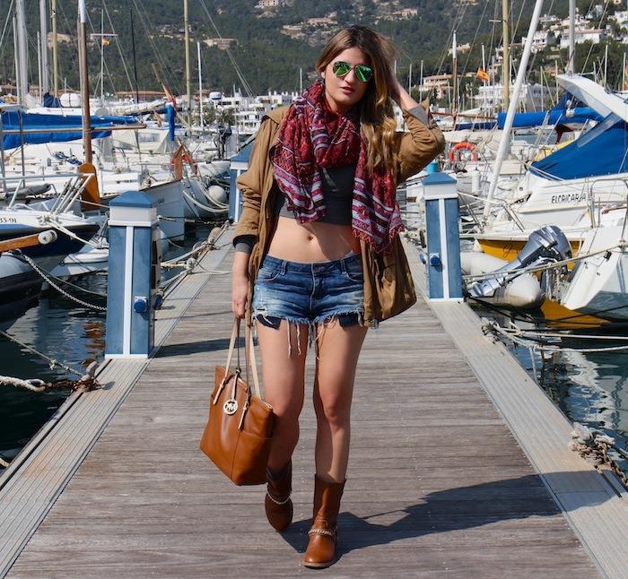 amaras la moda shorts mallorca port Andratx