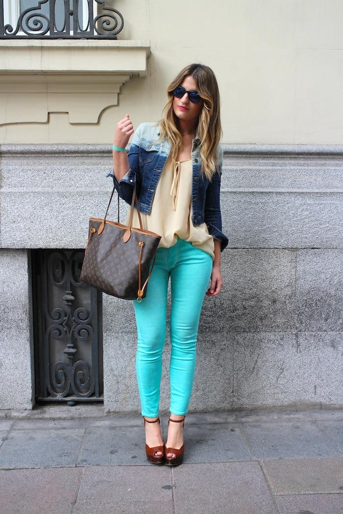 blue jeans amaras la moda