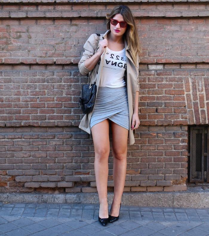 skirt trench amaras la moda1