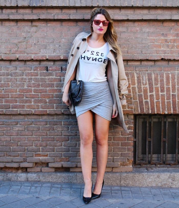 skirt trench amaras la moda3