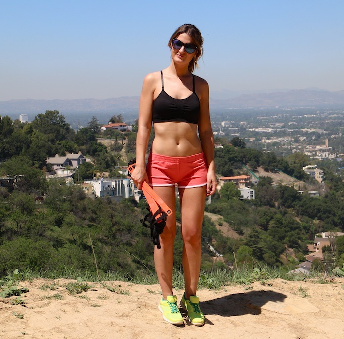 personal trainer hikking LA amaras la moda Diego 2