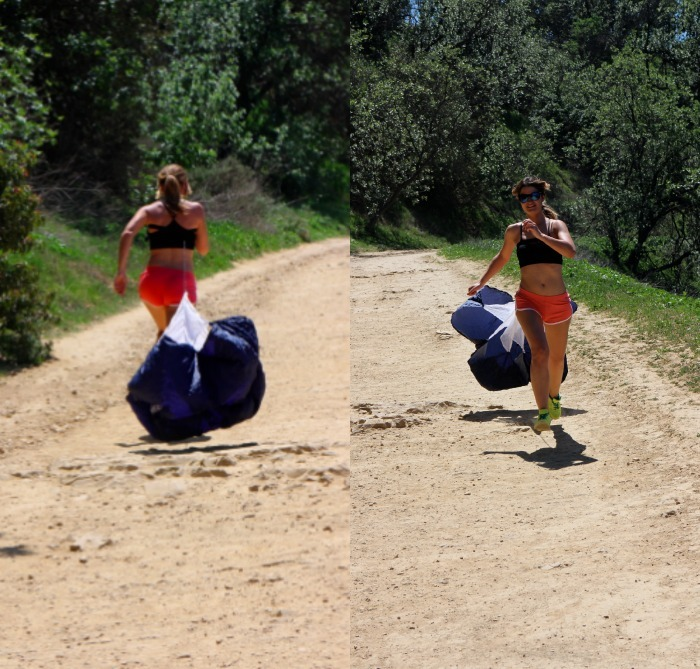 personal trainer hikking LA amaras la moda Diego Calvo
