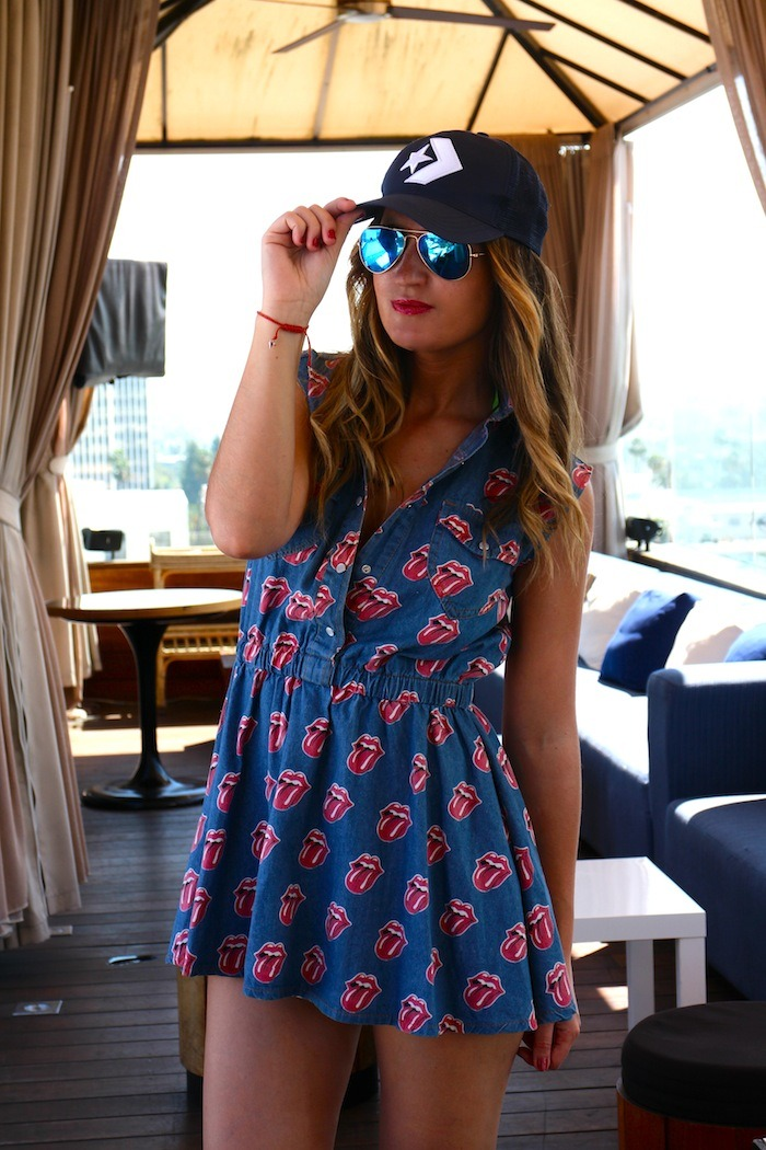rolling stone dress amaras la moda Los Ángeles Bervely Hills