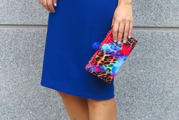 blue dress amaras la moda  chic sympathique clutch 6