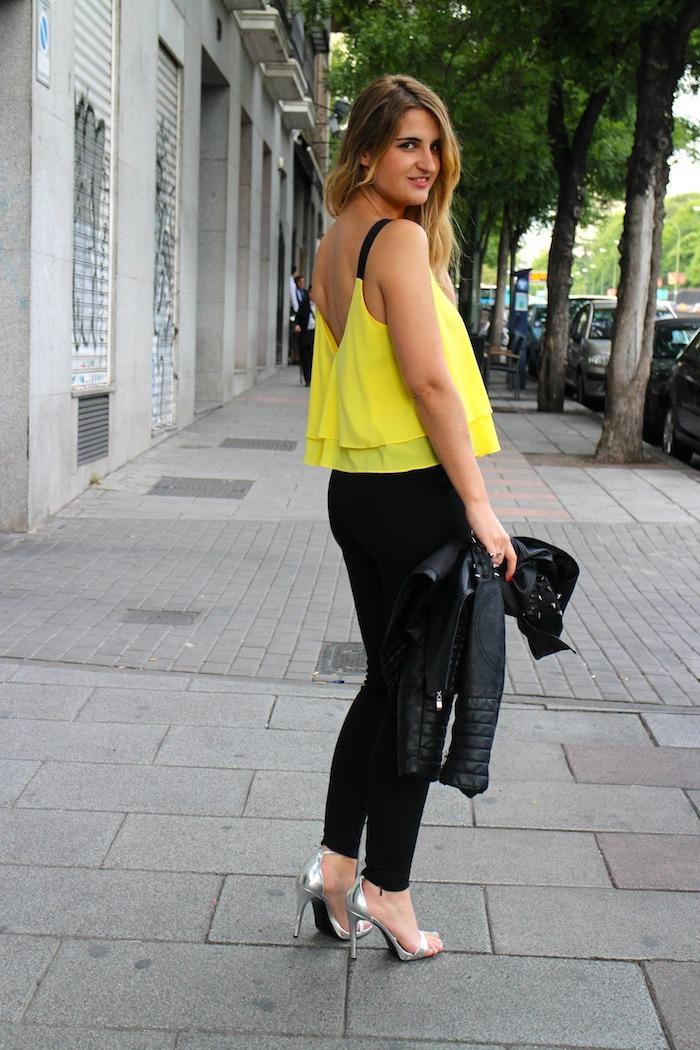 top amarillo zara silver sandals amaras la moda5