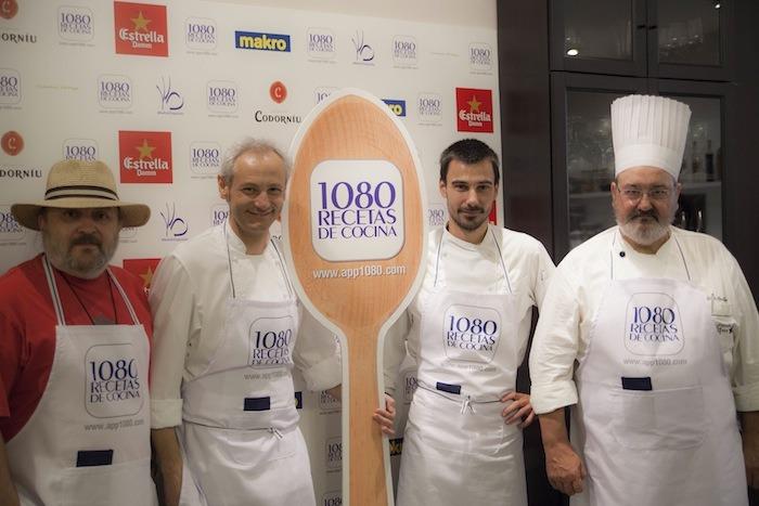 Sacha_Hormaechea_Jesus_Almagro_Iñaki_Camba_1080 recetas de cocina la app presentación lanzamiento amarás la moda 3jpg