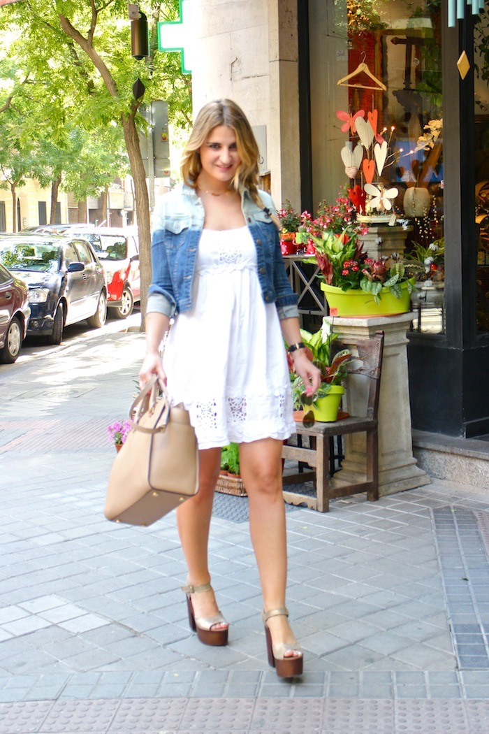 ibiza dress alpe shoes amaras la moda denim jacket Forever 21 2