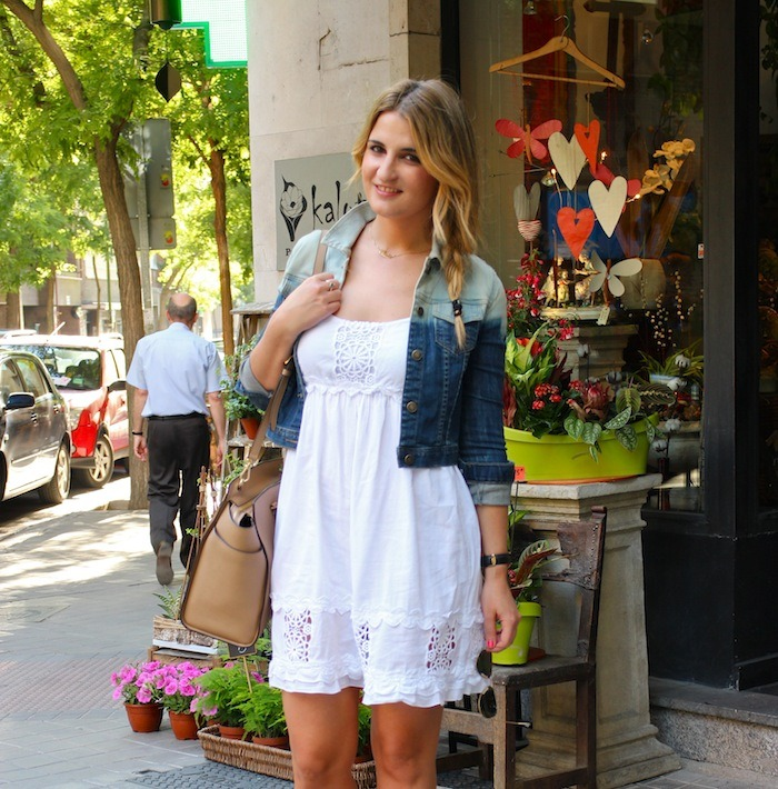 ibiza dress alpe shoes amaras la moda denim jacket Forever 21 3