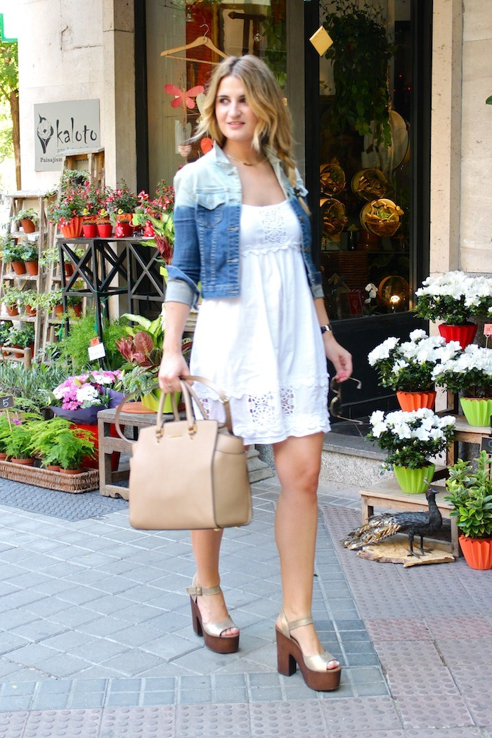 ibiza dress alpe shoes amaras la moda denim jacket Forever 21 5