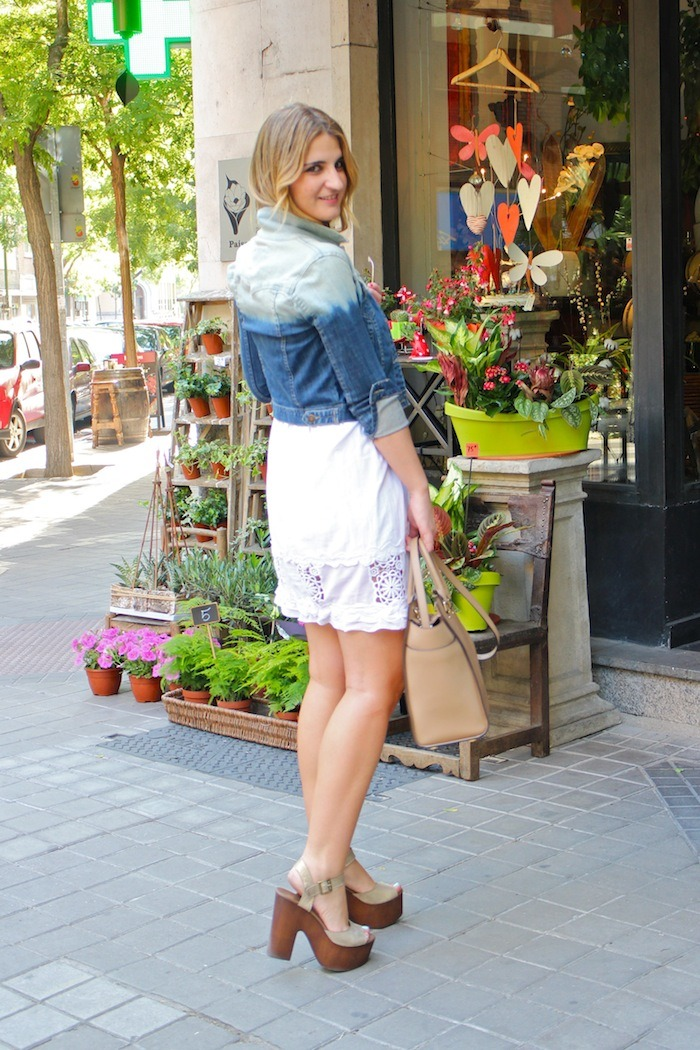 ibiza dress alpe shoes amaras la moda denim jacket Forever 21