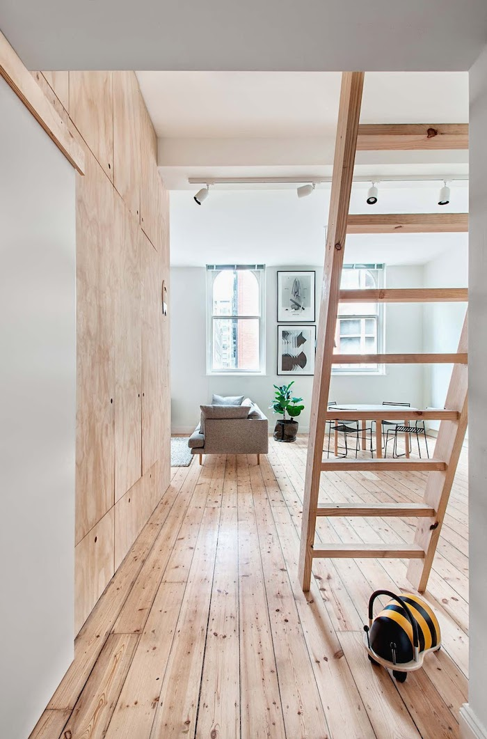 Plywood-home-with-a-touch-of-salmon Amarás la moda deco