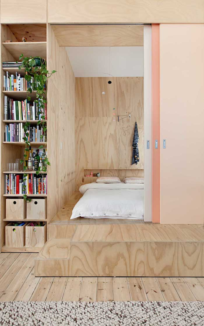 Plywood-home-with-a-touch-of-salmon Amarás la moda deco 2