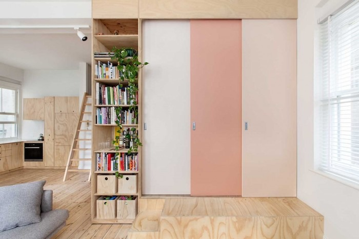 Plywood-home-with-a-touch-of-salmon Amarás la moda deco 4