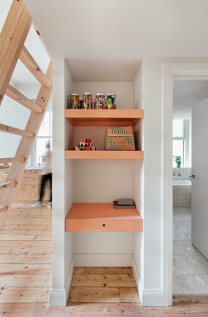 Plywood-home-with-a-touch-of-salmon Amarás la moda deco 6