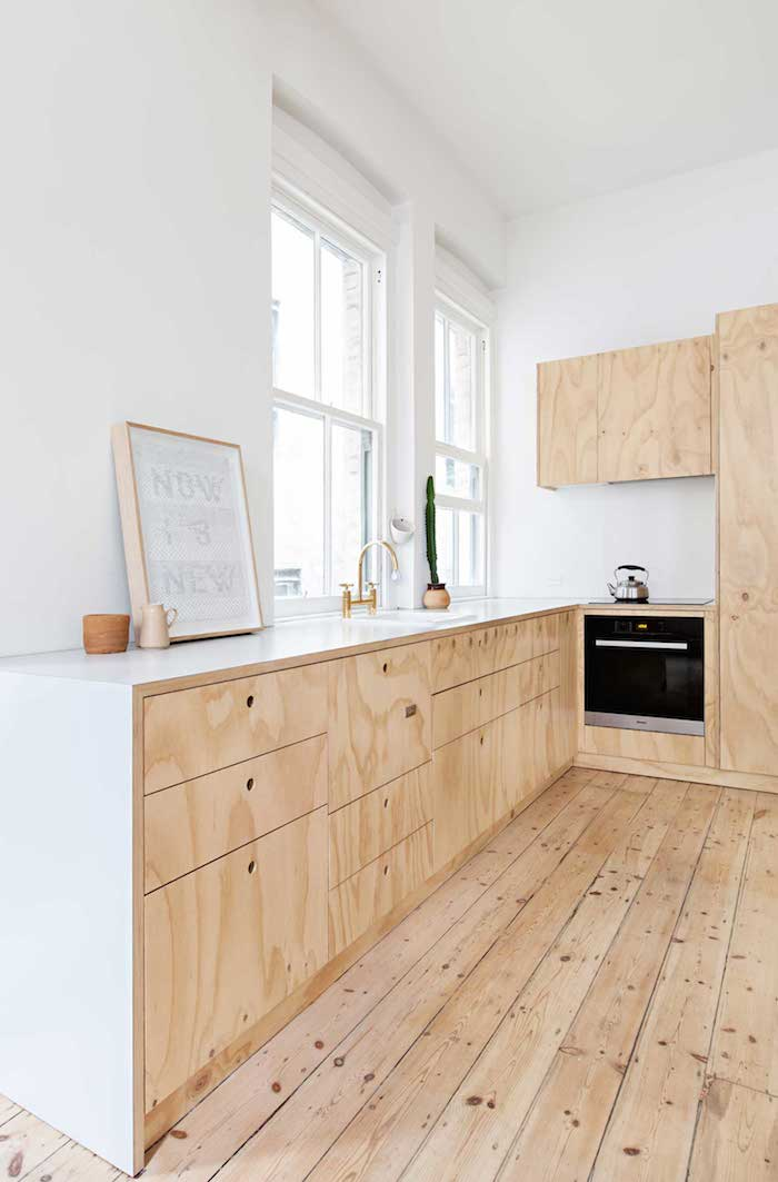 Plywood-home-with-a-touch-of-salmon Amarás la moda deco 7