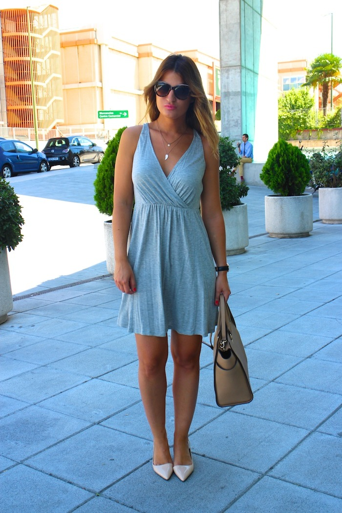 benetton dress michael kors bag stilettos zara dolce and gabanna sunnies amaras la moda 3