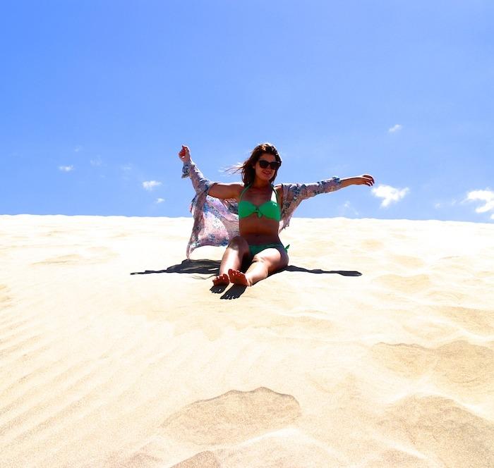 las Dunas de Maspalomas bikini calzedonia amaras la moda holidays 3