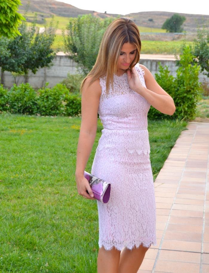 luisa beccaria la más mona Amarás la moda boda magrit clutch L K Bennet  2