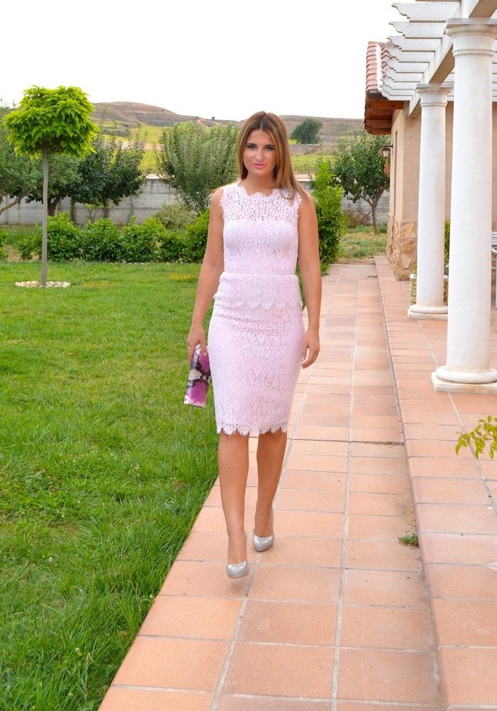 luisa beccaria la más mona Amarás la moda boda magrit clutch L K Bennet  3