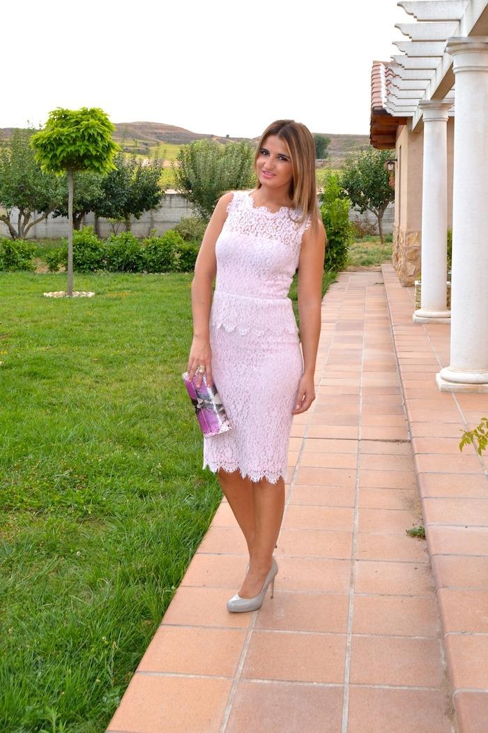 luisa beccaria la más mona Amarás la moda boda magrit clutch L K Bennet  5