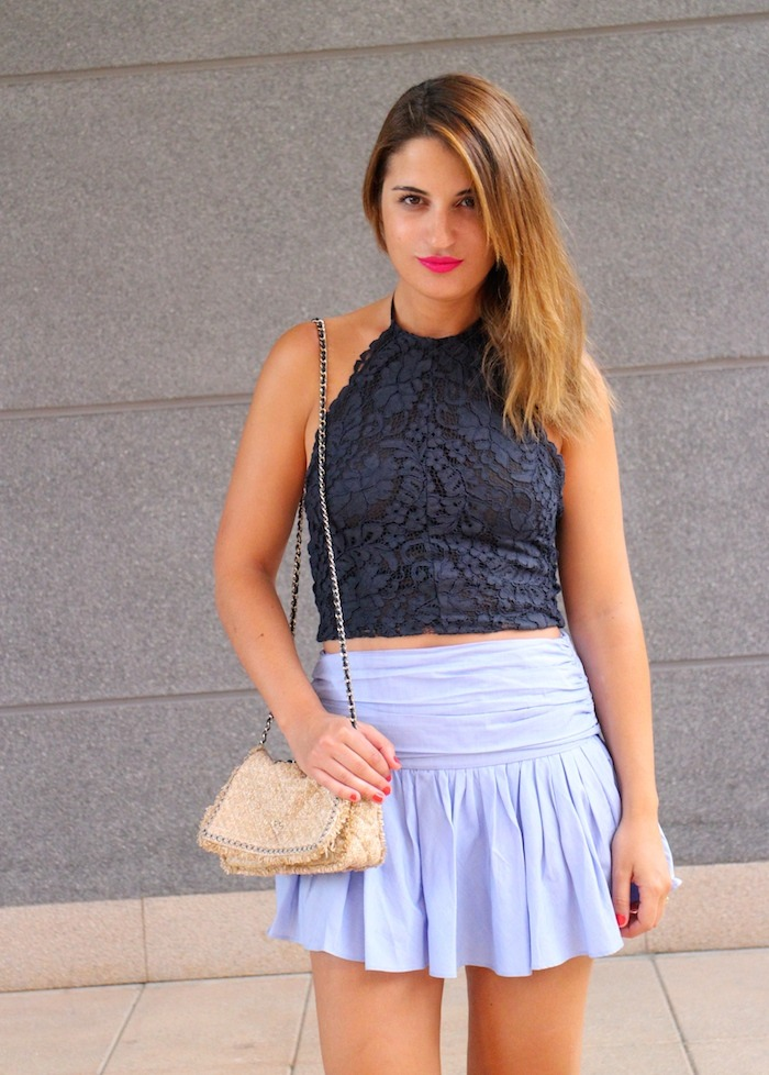 skirt top zara Amaras la moda 3