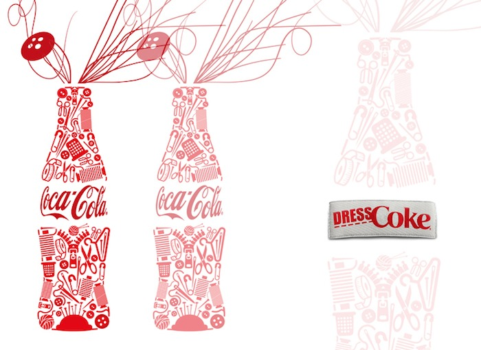 Cartel Dress Coke copia