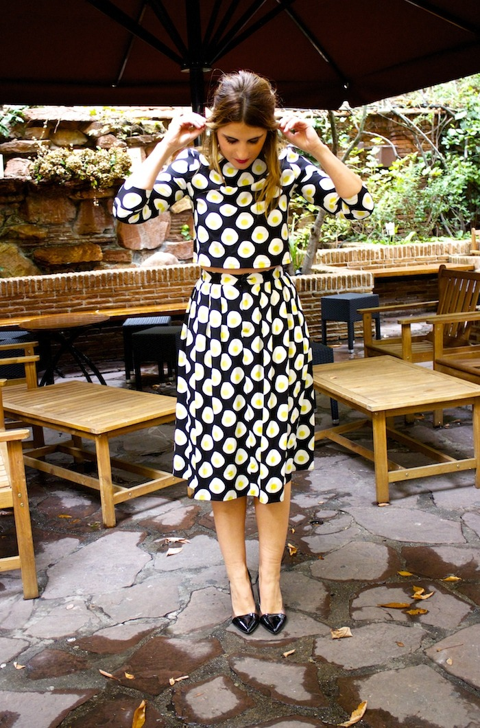 fashion pills  omelette skirt top amaras la moda
