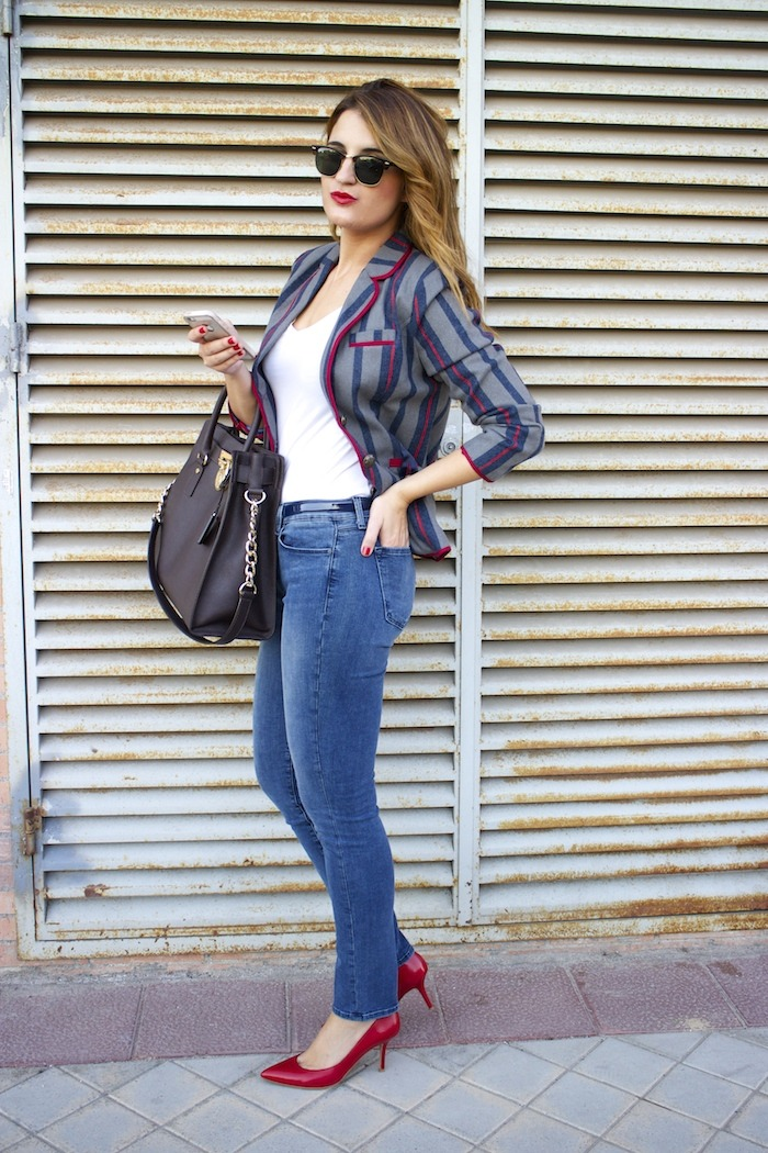 kerouak jacket riverside michael kors bag jbrand jeans rayban clubmaster amaras la moda  10