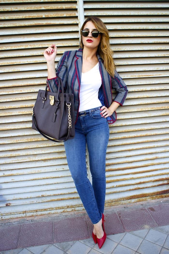 kerouak jacket riverside michael kors bag jbrand jeans rayban clubmaster amaras la moda  2