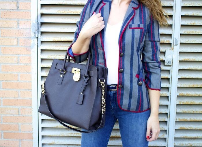 kerouak jacket riverside michael kors bag jbrand jeans rayban clubmaster amaras la moda  3