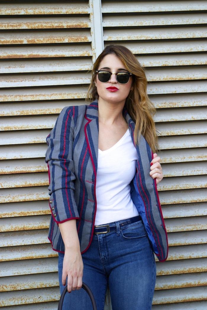 kerouak jacket riverside michael kors bag jbrand jeans rayban clubmaster amaras la moda  5