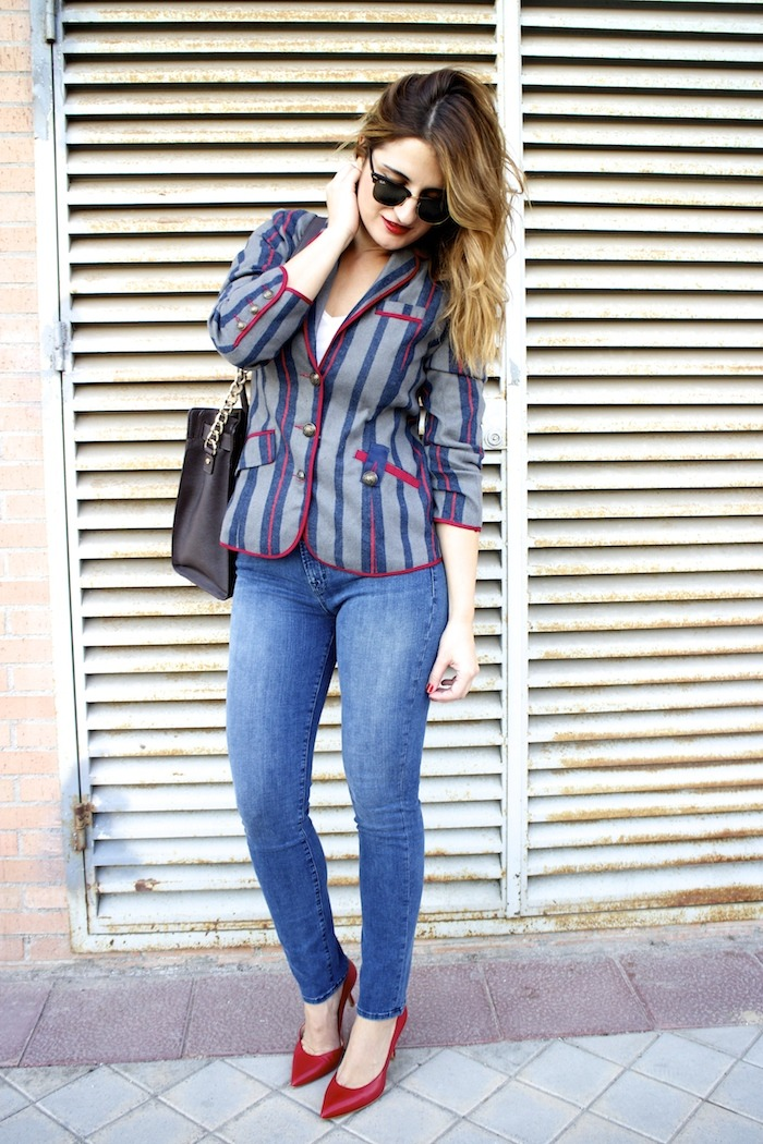 kerouak jacket riverside michael kors bag jbrand jeans rayban clubmaster amaras la moda  6