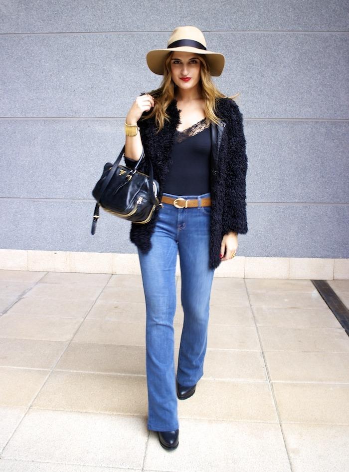 70s look venca coat j brand jeans prada bag zara boots amaras la moda 3