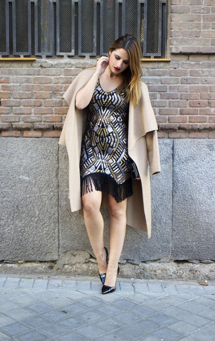 fashion pill dress paillettes amaras la moda zara coat stilettos chloe borel 12