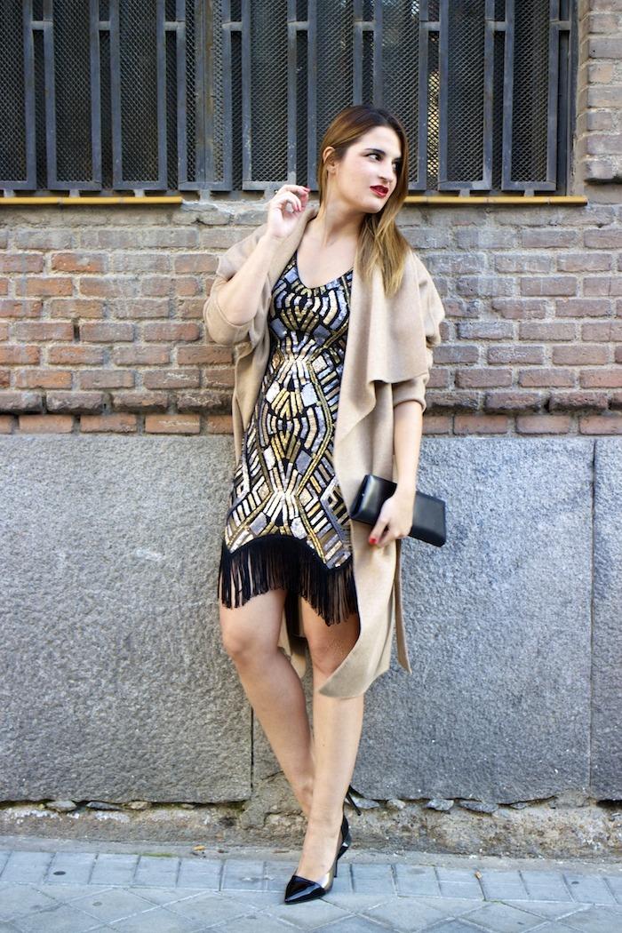 fashion pill dress paillettes amaras la moda zara coat stilettos chloe borel 4
