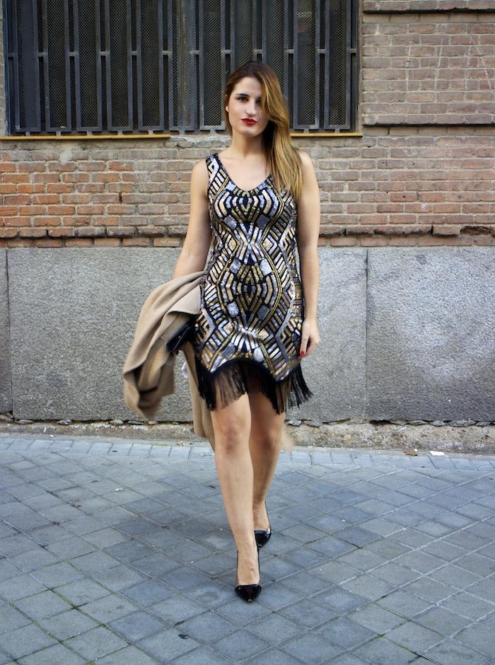 fashion pill dress paillettes amaras la moda zara coat stilettos chloe borel 8
