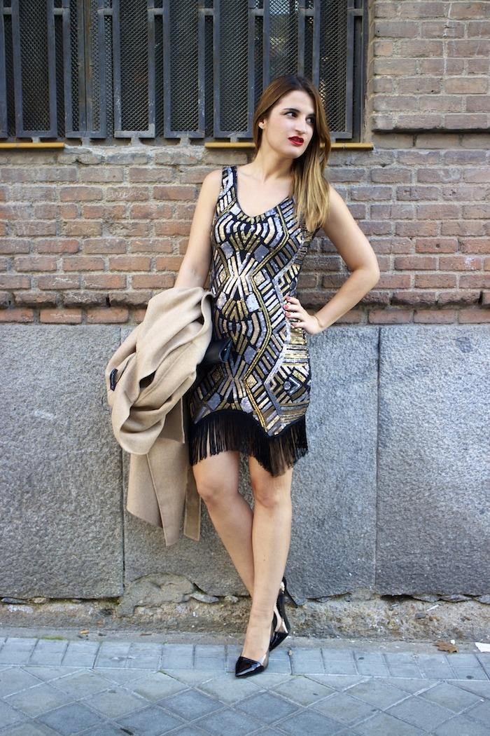 fashion pill dress paillettes amaras la moda zara coat stilettos chloe borel11