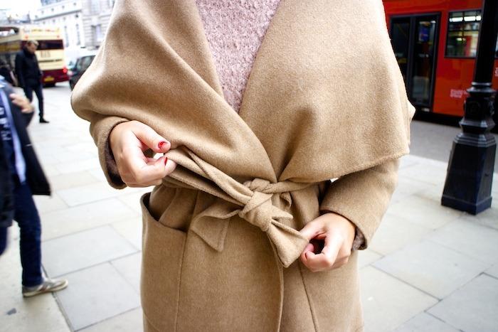 London camel coat Zara coach bag leopard Clarks shoes 2