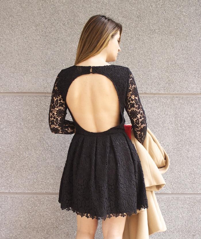 la redoute amaras la moda vestido encaje espalda al aire 3