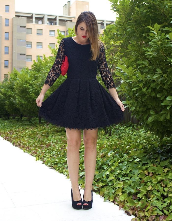 la redoute amaras la moda vestido encaje espalda al aire 4