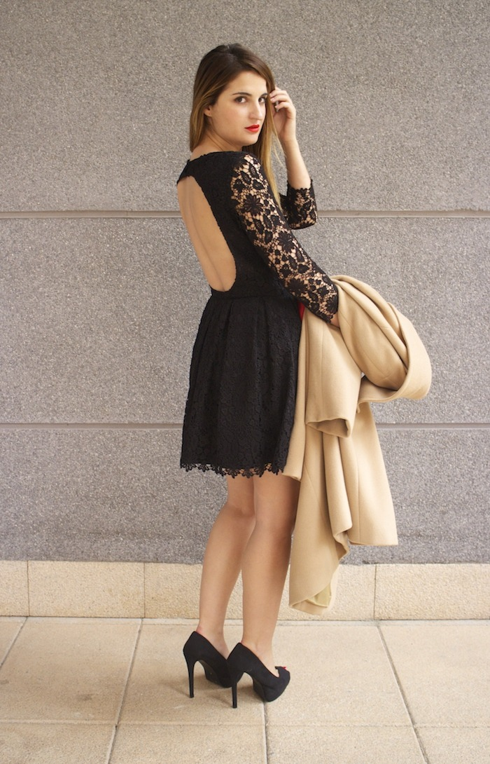 la redoute amaras la moda vestido encaje espalda al aire 7