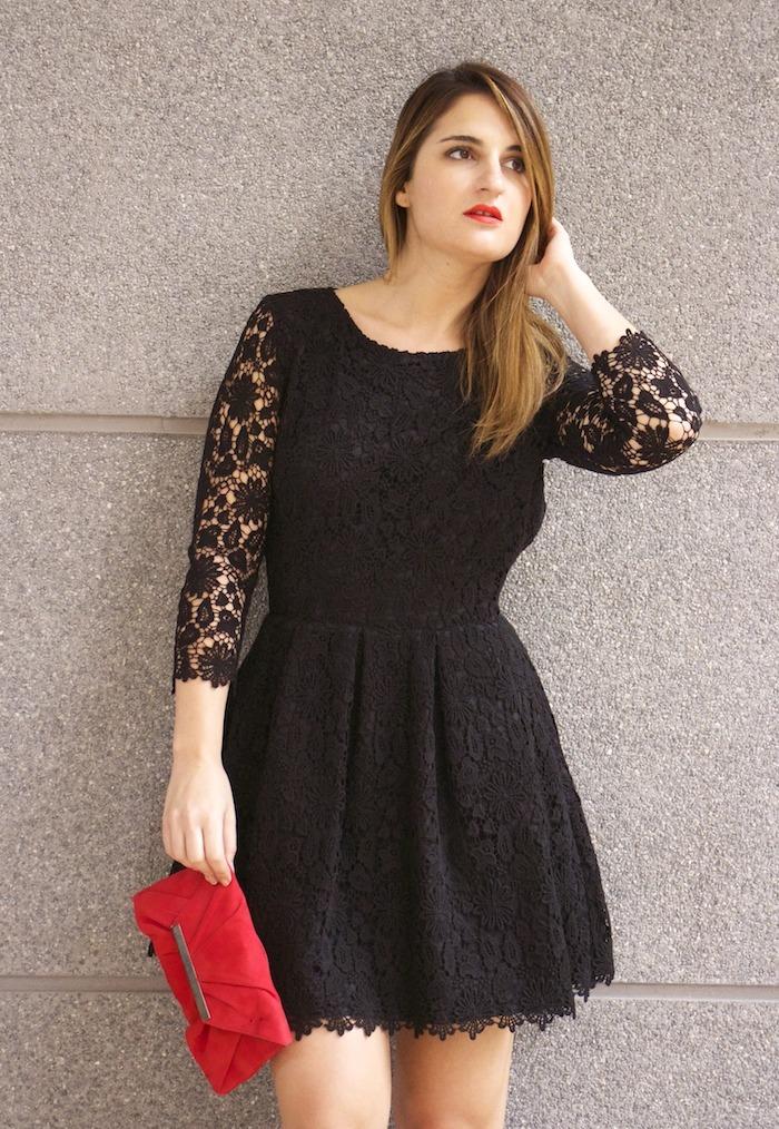 la redoute amaras la moda vestido encaje espalda al aire 9