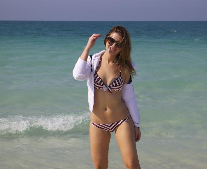 saadyat beach abu dhabi moschino amaras la moda