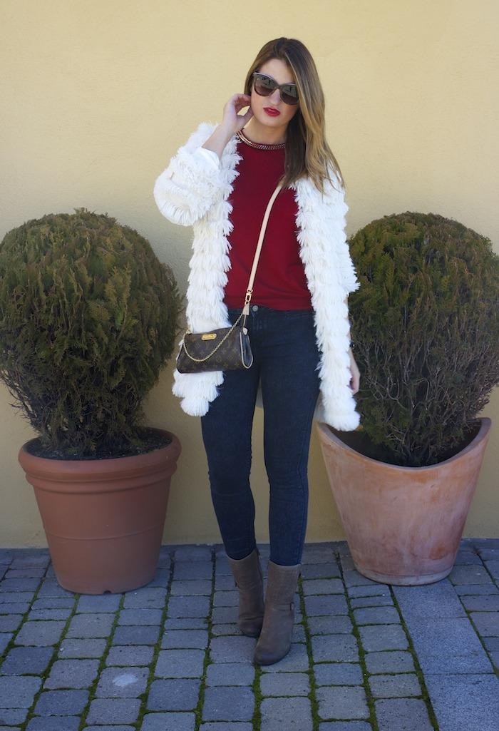 Boohoo coat amaras la moda louis vuitton Pochette Eva Ecco boots 3