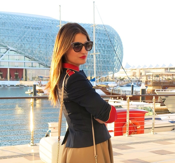 Yas Marina Abu Dhabi amarás la moda my schneider madrid jacket save the king michael kors bag 2