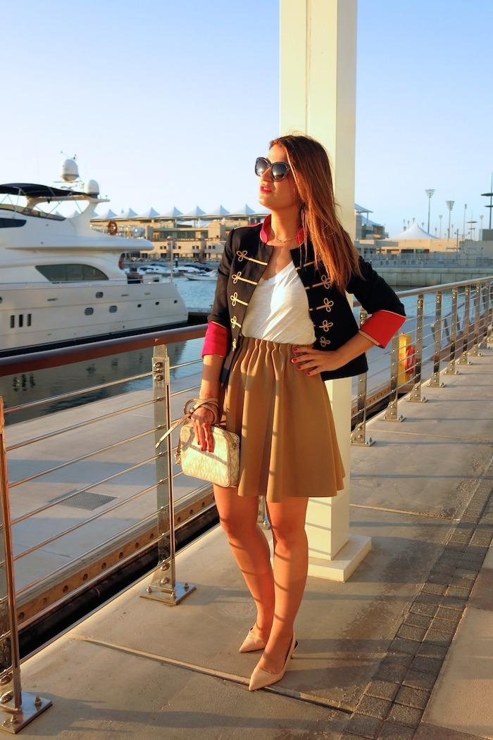 Yas Marina Abu Dhabi amarás la moda my schneider madrid jacket save the king michael kors bag 8