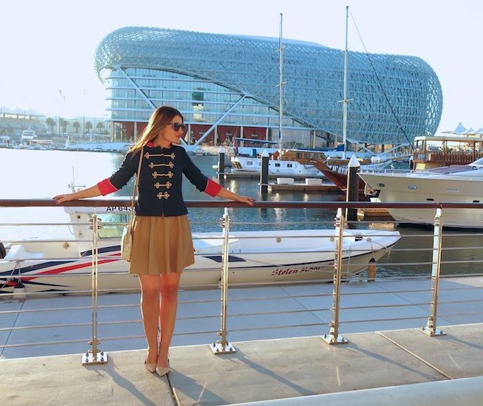 Yas Marina Abu Dhabi amarás la moda my schneider madrid jacket save the king michael kors bag 9