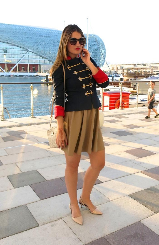 Yas Marina Abu Dhabi amarás la moda my schneider madrid jacket save the king michael kors bag